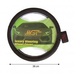 روکش فرمان MGT حلقه ای قهوه ای تیره کد 5041