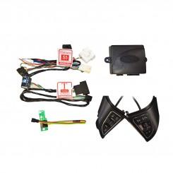 کروز کنترل مدل EAGLE EYES خودرو S5 اتومات با رابط کاربری بلوتوث