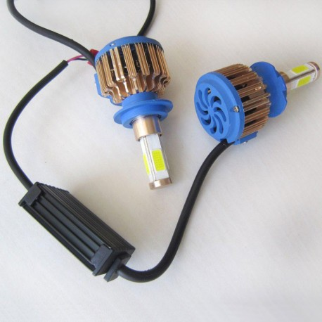 لامپ H7 نور بالا آزرا (هد لایت N9 چهار طرفه)