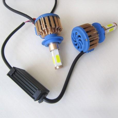 لامپ H7 نور بالا و پایین هیوندای کوپه (هد لایت N9 چهار طرفه)