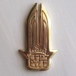 آرم فلزی طلایی کادیلاک (شمشیری)