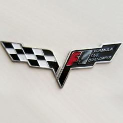 آرم F1 فلزی