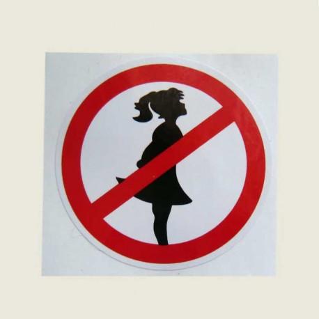 برچسب ورود خانم ها ممنوع