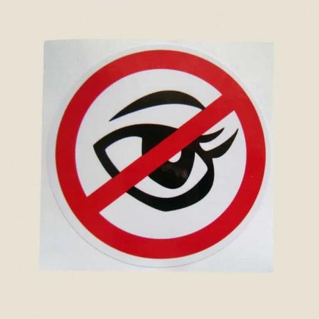 برچسب نگاه کردن ممنوع