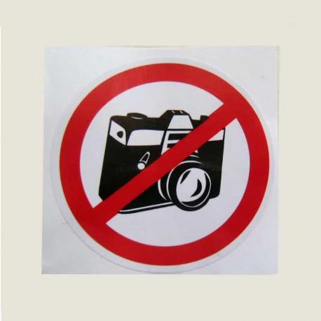 برچسب عکس برداری ممنوع