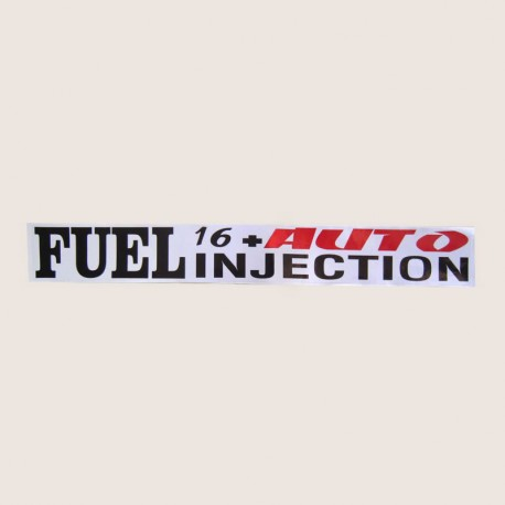 برچسب FUEL IN JECTION