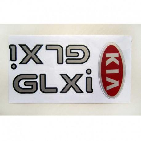 برچسب GLXi و KIA